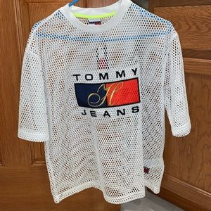 Mesh Tommy Hilfiger top